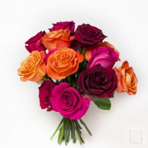 bouquet equador rose calde