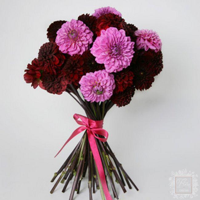bouquet ambizione fiori viola e rosa