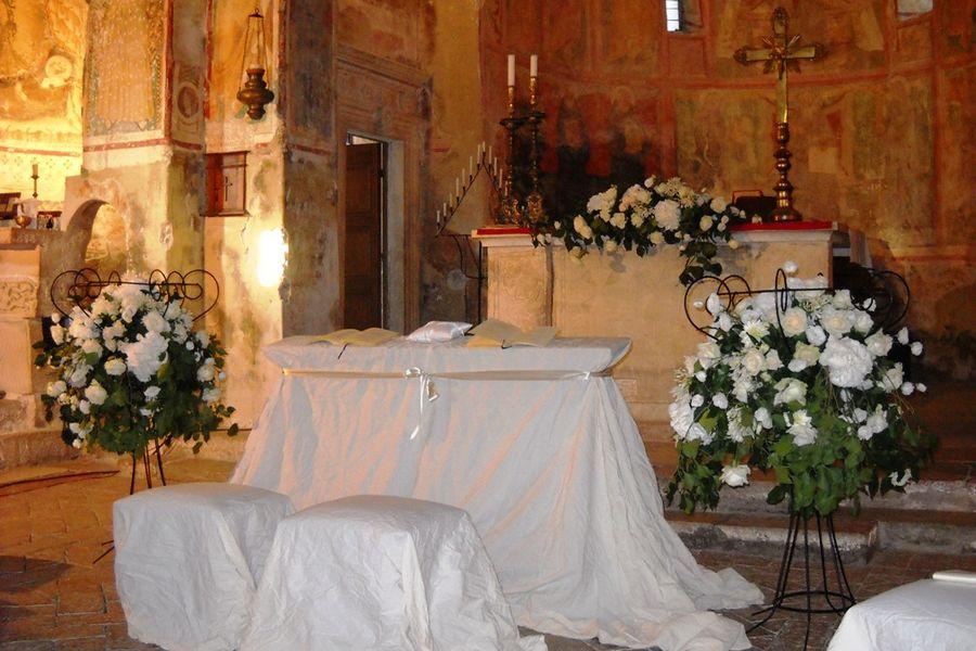 decorazioni matrimonio chiesa