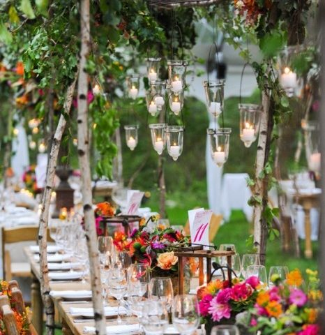 decoro matrimonio bohemien