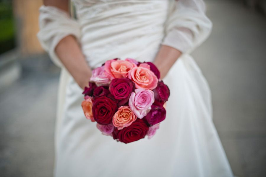 bouquet matrimonio rose