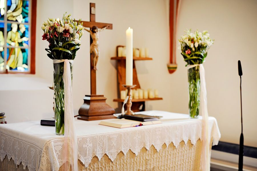 decoro altare matrimonio
